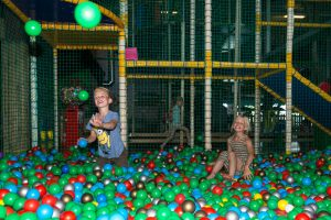 Ballenbak speel-en klimgedeelte
