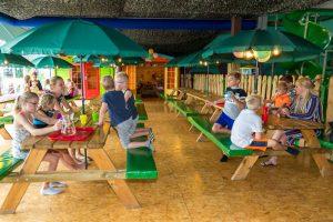 Horecaterras feestjes en schoolreisjes