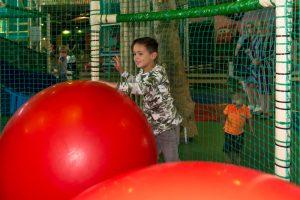 Skippyballen speelgedeelte